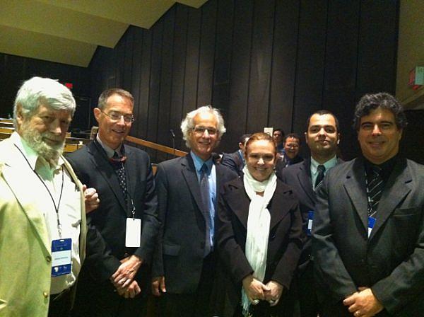 Professor Adrian Popovici, Juiz Nicholas Kasirer, Prof Gilles Trudeau, Juiza Regina Longuini, Juiz Hugo Torquato, Juiz Marcelo Badaró