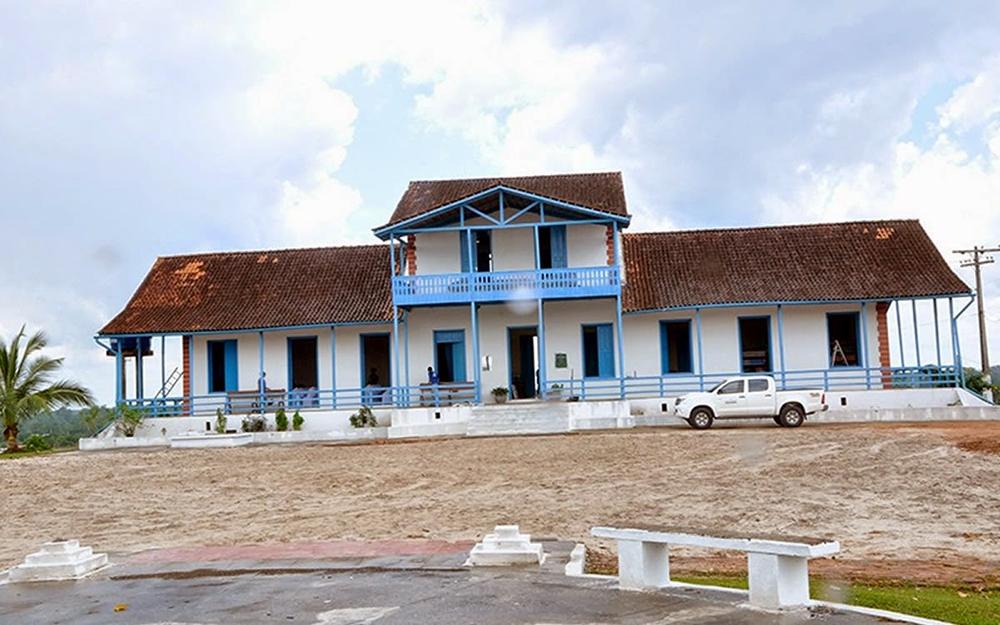 Foto do centro Cultural do Juruá