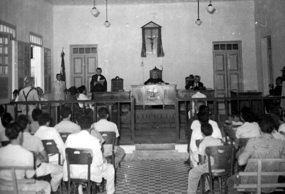 Palácio da Justiça, Sessão do tribunal do Júri